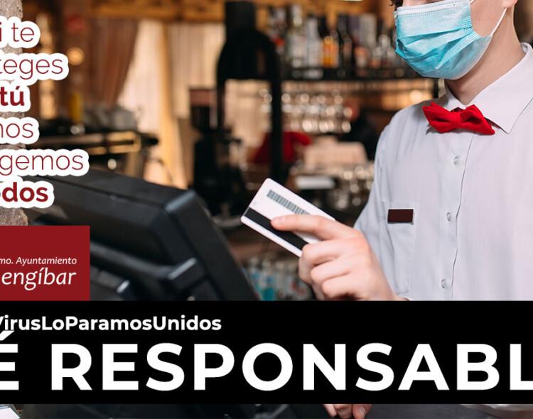 Indicaciones para personas que vayan a restaurantes, bares o terrazas durante la pandemia por COVID-19