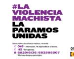 Igualdad en Mengíbar: Campaña 'La violencia machista la paramos unidas'