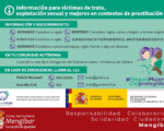 Coronavirus: Guía de actuación para mujeres víctimas de trata con fines de explotación sexual y para mujeres en contextos de prostitución