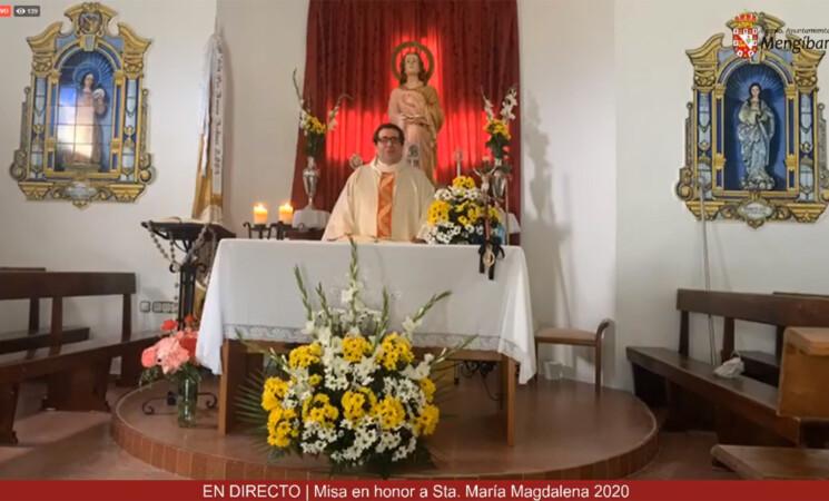 Vídeo de la misa en honor de La Malena, patrona de Mengíbar, en el domingo en el que tendría que haberse celebrado la romería