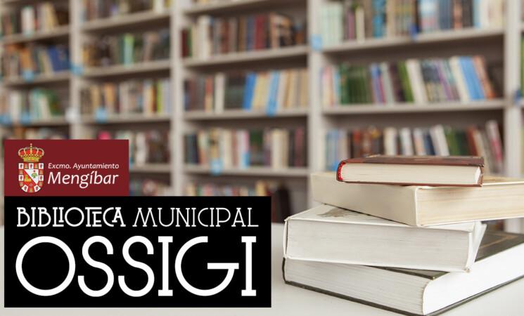 Nuevo horario de la Biblioteca Municipal de Mengíbar (a partir del 15 de septiembre de 2020)