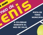 Campeonato de Tenis Verano en Mengíbar 2020