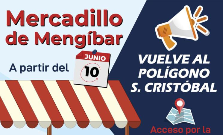 El Mercadillo de Mengíbar regresará al polígono de San Cristóbal este miércoles, 10 de junio de 2020