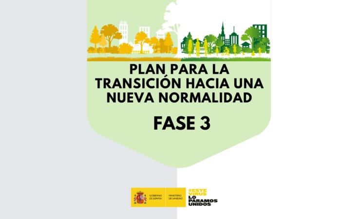 El BOE publica medidas de flexibilización para los territorios en fase 3