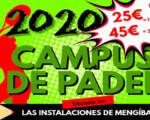 Campus de pádel en Mengíbar, del 3 al 14 de agosto de 2020