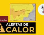 Avisos por altas temperaturas en Mengíbar: nivel amarillo este viernes (3 de julio) y naranja el domingo (5 de julio de 2020)