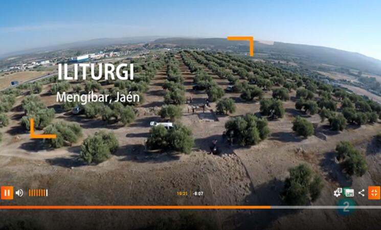 Iliturgi en el programa de Arqueomanía (TVE) sobre la segunda Guerra Púnica