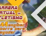 Carrera Virtual de Atletismo 'Mengíbar corre para ayudar', del 6 al 19 de julio de 2020
