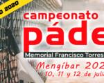 Campeonato de Pádel de Verano 2020 en Mengíbar - Memorial Francisco Torres 'Tala'