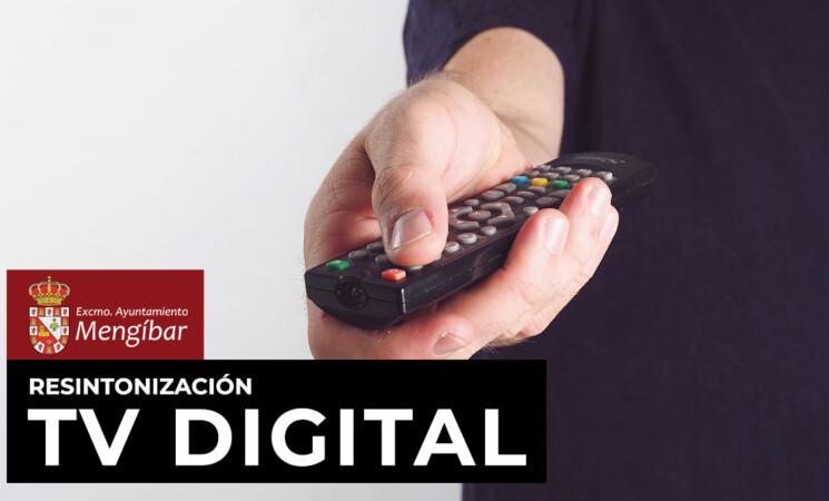 El Ayuntamiento de Mengíbar informa de la resintonización de los canales de TDT