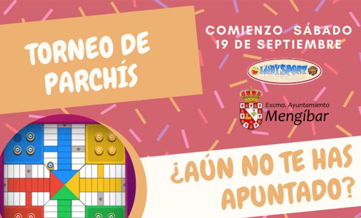 El Ayuntamiento de Mengíbar organiza un torneo de parchís online (inscripciones abiertas)