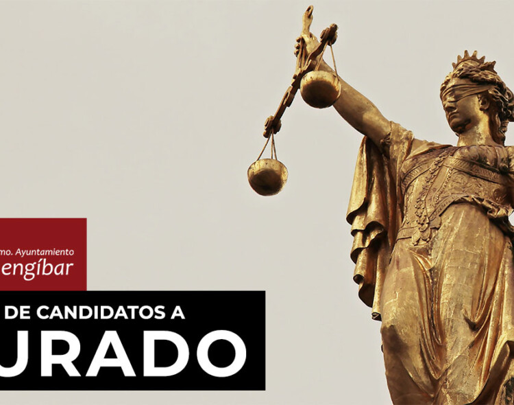 Publicada la lista provisional de candidatos a jurado en el tablón de anuncios del Ayuntamiento de Mengíbar