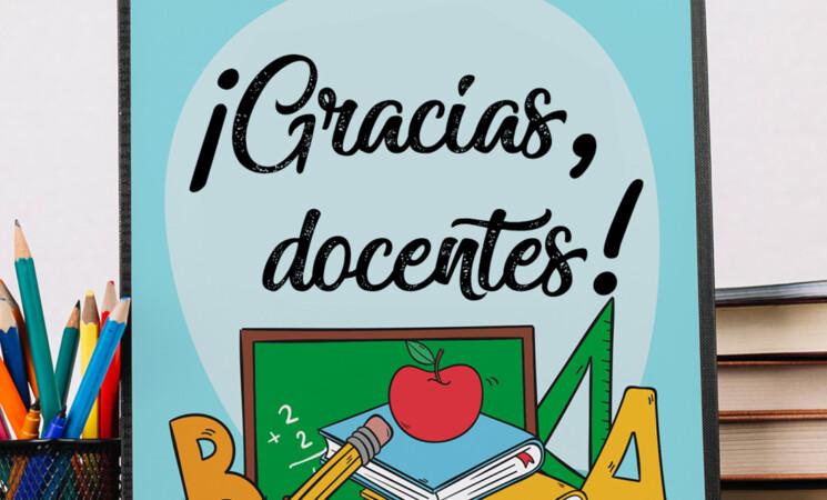Educación en Mengíbar: Cartel del Día Mundial de los Docentes