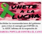 No habrá Marcha Popular contra el Cáncer… pero ¡Mengíbar se sigue vistiendo de rosa!