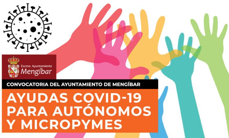 Beneficiarios provisionales de las ayudas a personas autónomas y microempresas del Ayuntamiento de Mengíbar por COVID-19