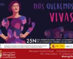 Mengíbar contra la violencia de género: 25-N Día internacional para la eliminación de la violencia contra las mujeres 2020