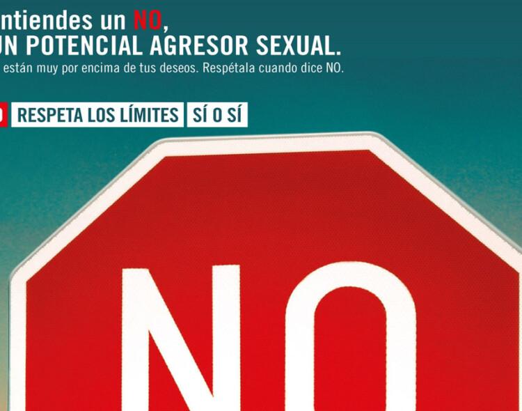 Campaña informativa en Mengíbar contra la violencia sexual