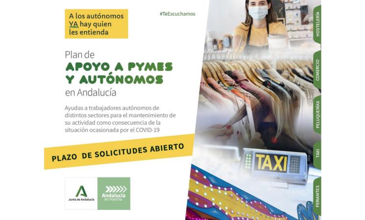 Ayudas para autónomos de la hostelería, pequeño comercio, servicios de peluquería, transporte por taxi y feriantes