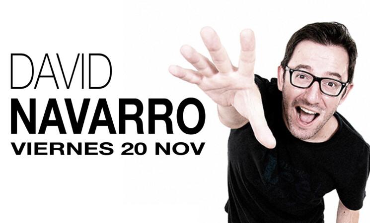 Noviembre Cultural - Mengíbar 2020: Humor garantizado en 'streaming' con David Navarro, este viernes