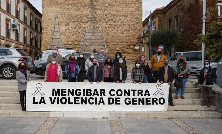 Acto institucional del Ayuntamiento de Mengíbar por el Día Internacional contra la Violencia de Género