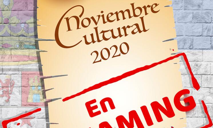 El Noviembre Cultural de Mengíbar 2020 será en 'streaming'
