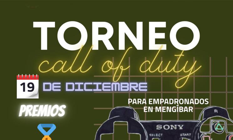 Mengíbar en Navidad: Torneo de Call Of Duty, el próximo 19 de diciembre (inscripciones previas)