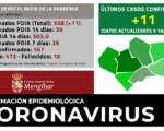 Coronavirus: 11 casos nuevos de COVID-19 en Mengíbar (18/01/2021)