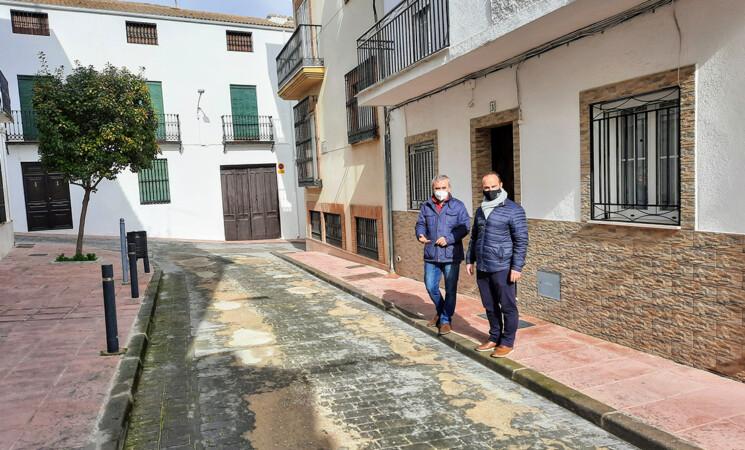 El Ayuntamiento de Mengíbar adoquinará la calle Maestro Francisco Hortal con una inversión de 22.000 euros