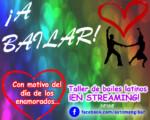 Taller de bailes latinos en 'streaming' desde el Facebook del Ayuntamiento de Mengíbar el 13 de febrero de 2021