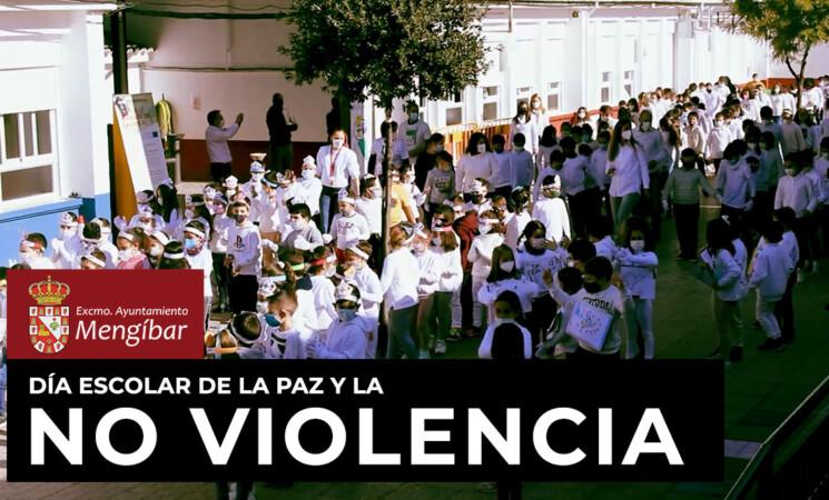Vídeo de la celebración del Día Escolar de la No Violencia y de la Paz 2021 en Mengíbar