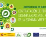 Subvenciones por la contratación de personas desempleadas en la economía verde y azul (Convocatoria Emplea)