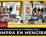 Entrega de las cestas del gran sorteo del Comercio Local de Mengíbar