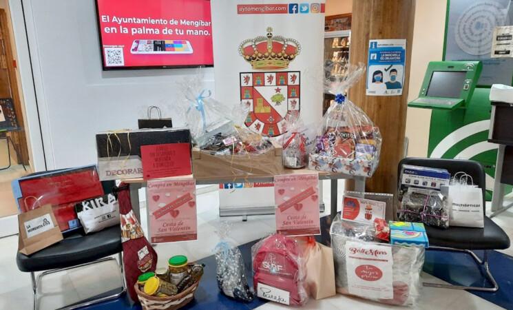 Número ganador del sorteo de la Cesta del Comercio de Mengíbar por San Valentín