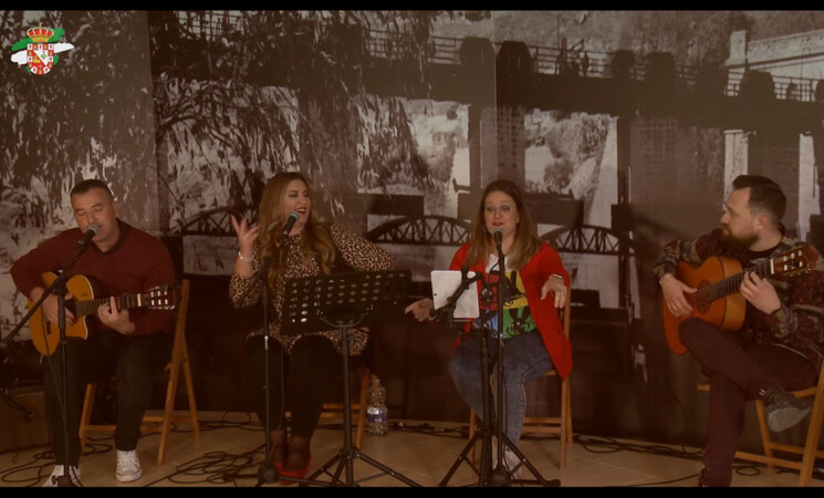 Día de Andalucía en Mengíbar: Concierto virtual de 'Canela en Rama'