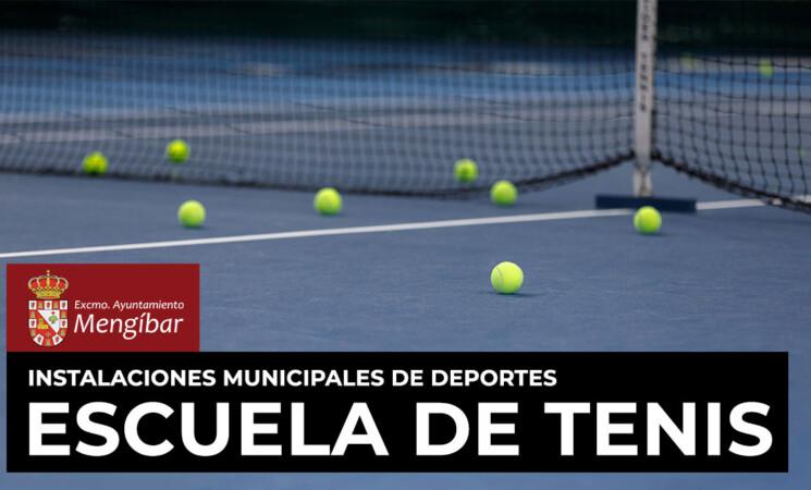 Abiertas las inscripciones de Escuela Municipal de Tenis de Mengíbar