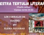 El próximo viernes, nuevo encuentro con las Tertulias Literarias