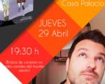 Presentación literaria virtual de la nueva obra de Mario Migueláñez desde la Casa Palacio de Mengíbar