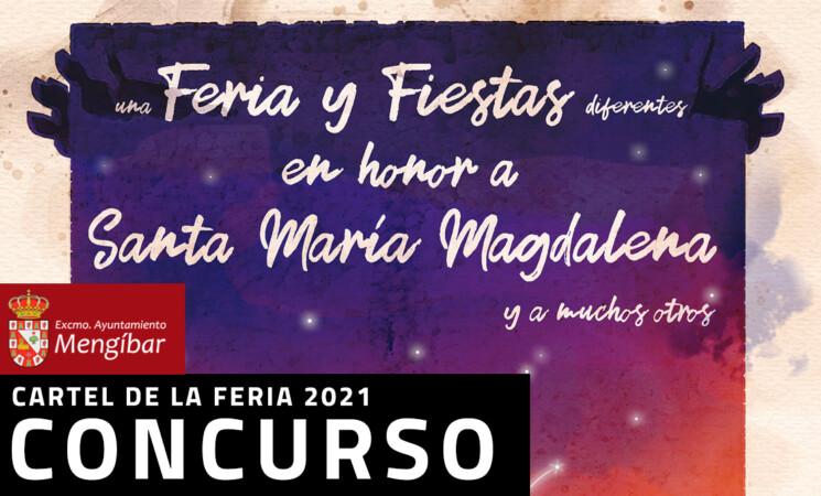 Concurso del cartel anunciador de la Feria y Fiestas de Mengíbar en honor de Santa María Magdalena 2021