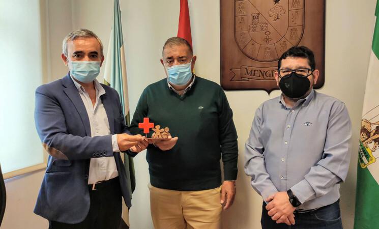 Cruz Roja reconoce al Ayuntamiento de Mengíbar por su contribución a los proyectos de formación y empleo en 2020