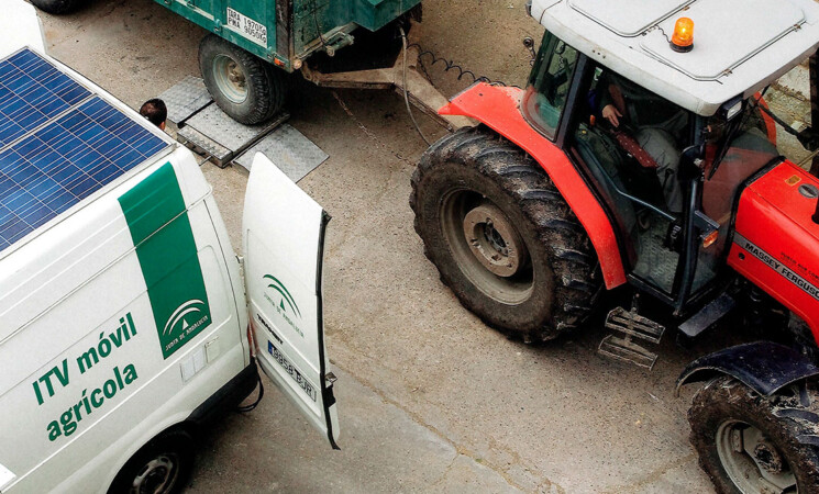 ITV móvil para vehículos agrícolas en Mengíbar el 10 de mayo de 2021