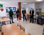El Ayuntamiento de Mengíbar acondiciona un espacio para el nuevo comedor escolar del Colegio Manuel de la Chica