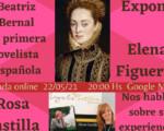 Este sábado, Elena Figueras y Rosa Castilla en una nueva edición de las Tertulias Literarias desde Casa Palacio