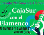Recital de flamenco con Miguel Tena y Patrocinio Hijo en la Casa de la Cultura de Mengíbar, el 28 de mayo de 2021