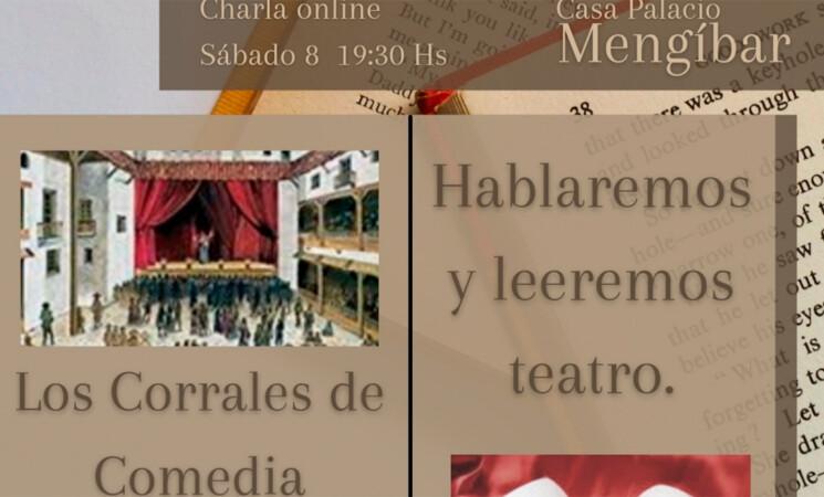 Los Corrales de Comedia protagonizarán la tertulia literaria de este sábado