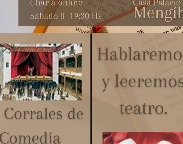 Los Corrales de Comedia protagonizarán la tertulia literaria de este sábado desde la Casa Palacio de Mengíbar