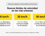 El Ayuntamiento de Mengíbar informa de los nuevos límites de velocidad en vías urbanas