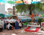 El Centro Ocupacional Villa de Mengíbar celebra el Día de las Cruces de Mayo 2021