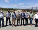 La delegada de Agricultura visita proyectos del Ayuntamiento de Mengíbar subvencionados por la Junta