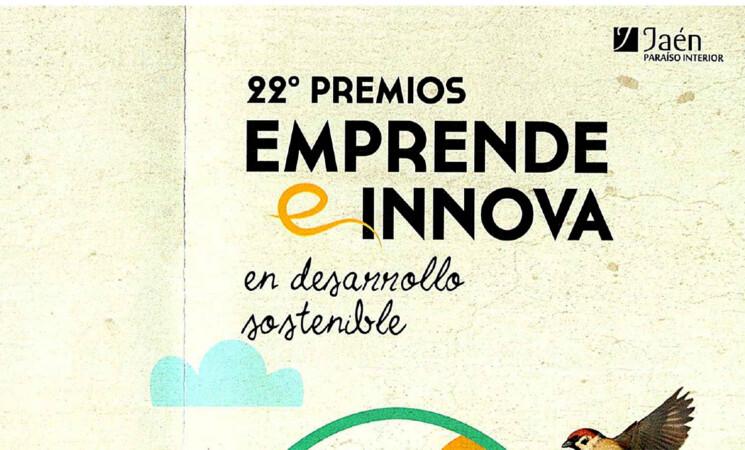 La Diputación de Jaén convoca los XXI Premios Emprende e Innova en Desarrollo Sostenible