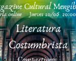 La literatura costumbrista, protagonista de una nueva edición de las Tertulias Literarias de Mengíbar